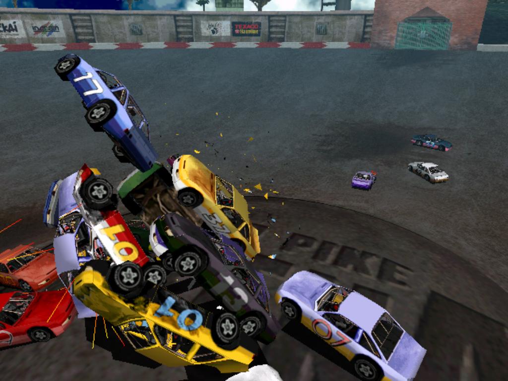 Carmageddon >> Gameplay example images - DD2C2TC - Destruction Derby 2 to Carmageddon 2 TC mod for Carmageddon ...