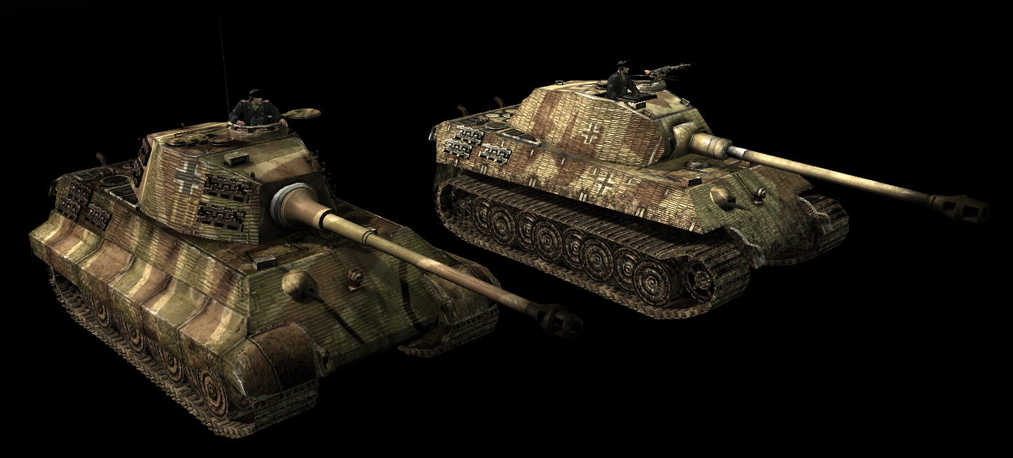 King Tigers Image Company Of Heroes Back To Basics Mod For Company Of Heroes Opposing Fronts Mod Db