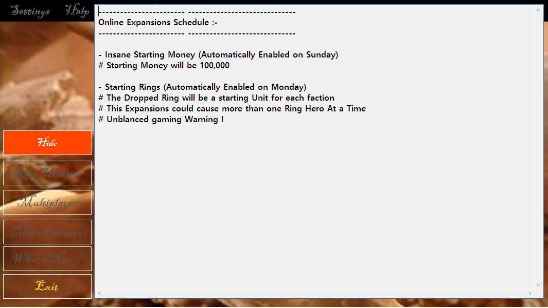 Version 2.2.8 Online Expansions