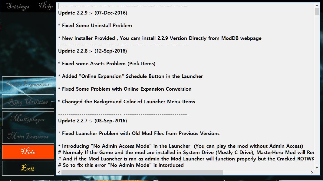 Version 2.2.9