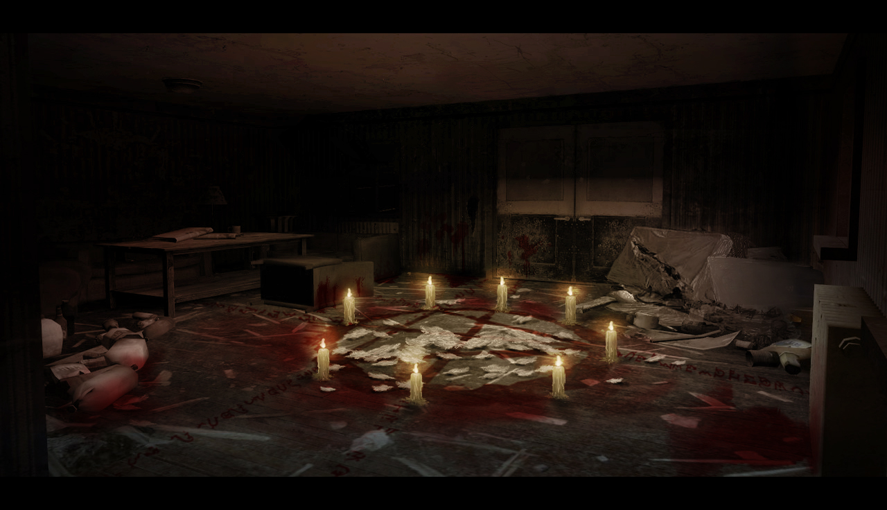 Ritual Room Concept Art Image The Harvest Mod For Half