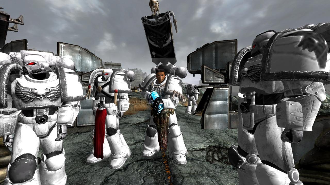 Luna Wolves Image Warhammer 40k Conversion Mod For