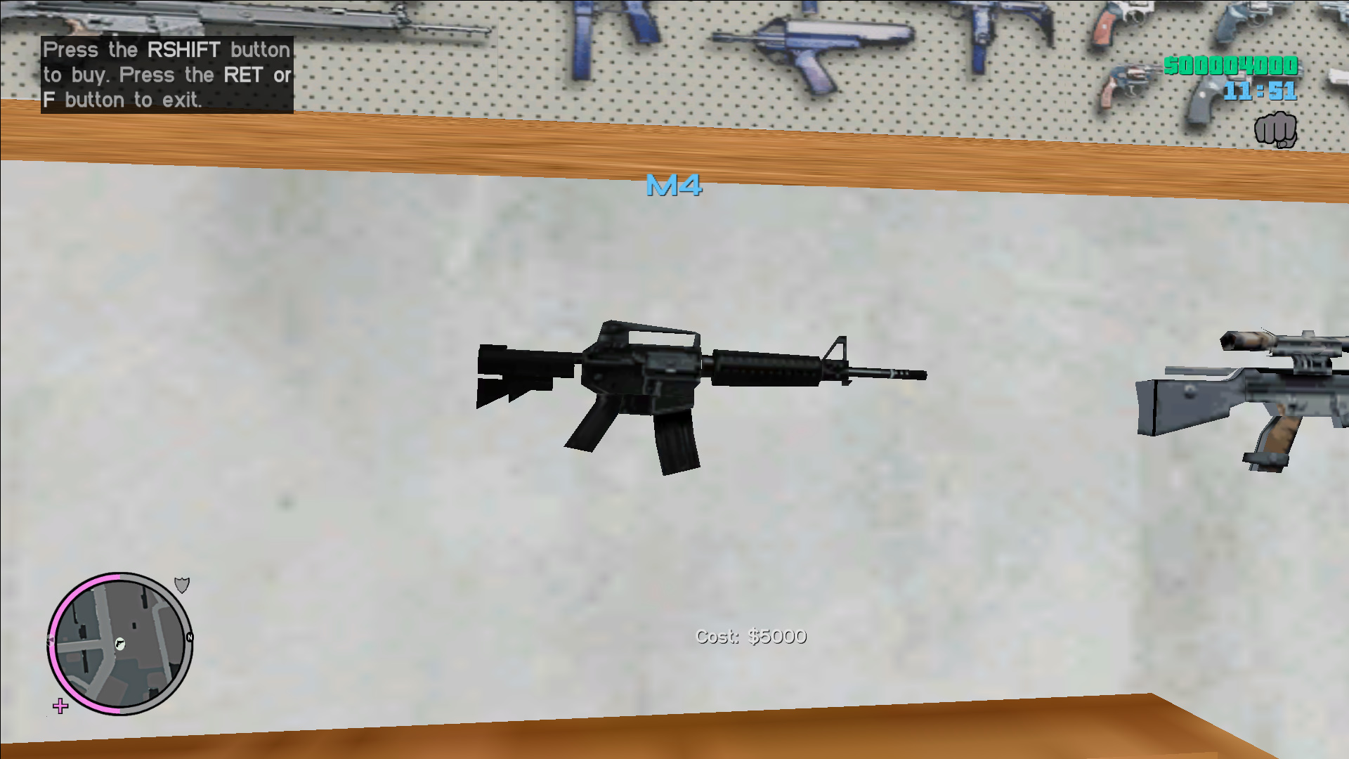 """""""M4"""" - M4 from Vice City BETA"""