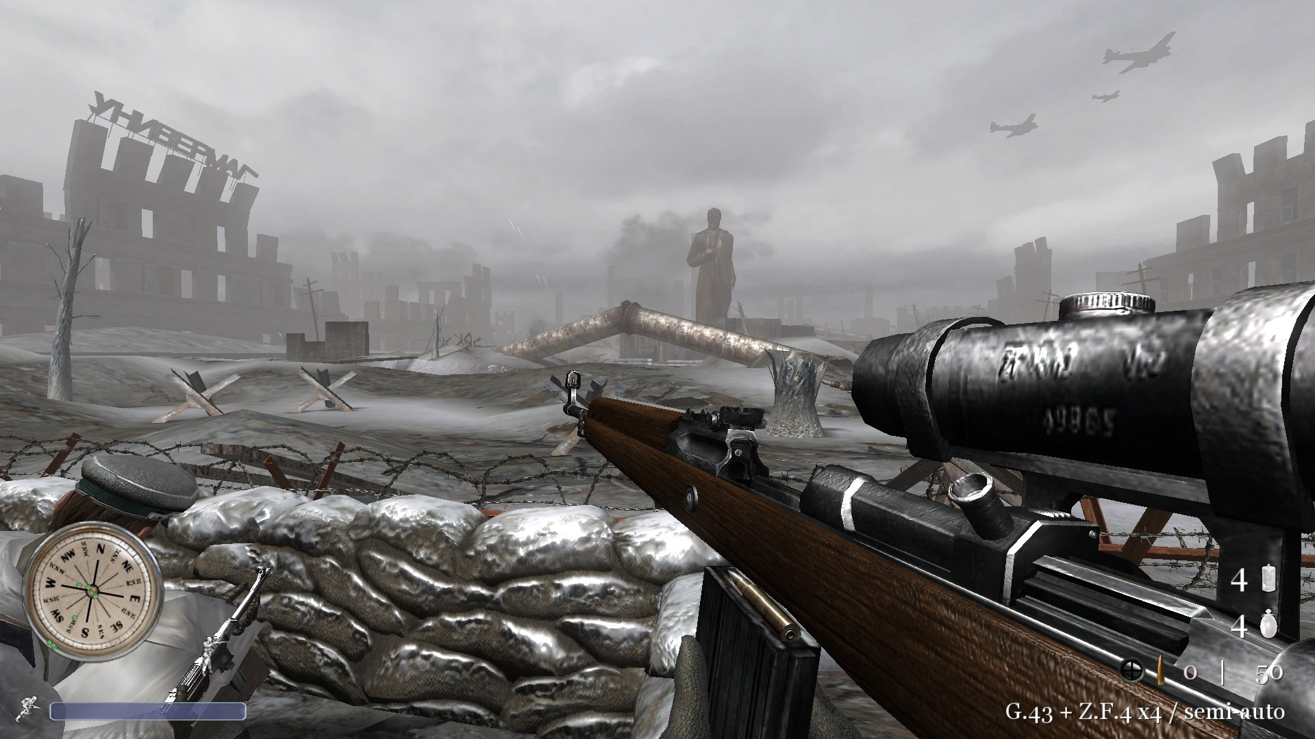 Back2Fronts is an extensive mod that will overhaul your Call of Duty 2 game to a next level. This mod brings more variety, intensity, realism and battle-like experience.