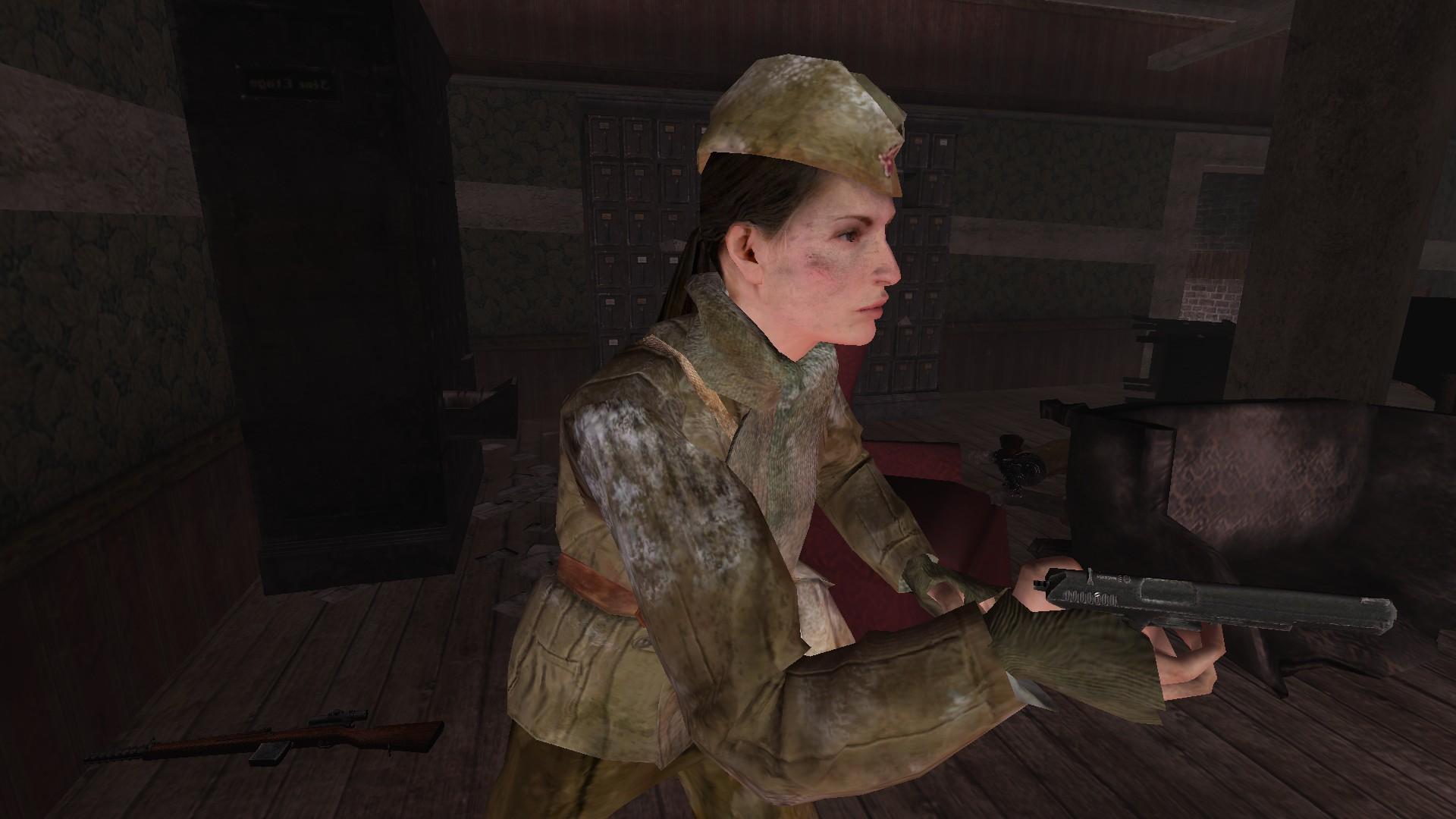 Female US Soldier - Units - Armaholic