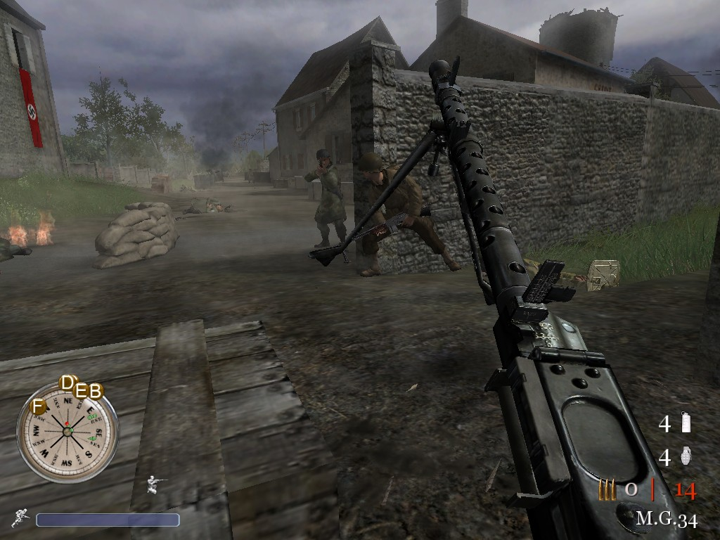 Browse Back2Fronts Mod for Call of Duty 2 addons to download customizations including maps, skins, sounds, sprays and models.
