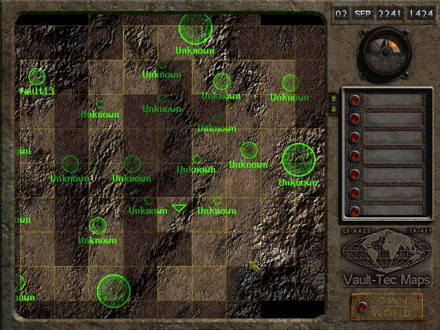 worldmap image - 13V mod for Fallout 2 - Mod DB