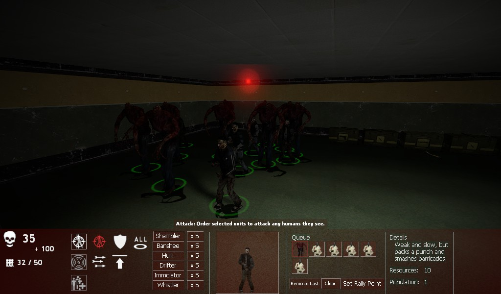 New ZM Interface ( WIP ) image - Zombie Master 2 mod for