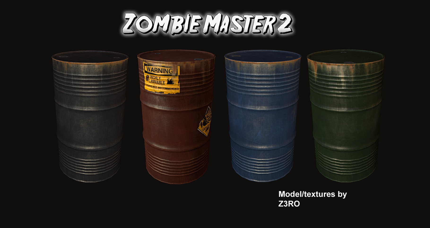 report rss map props and textures view original - Zombie Props