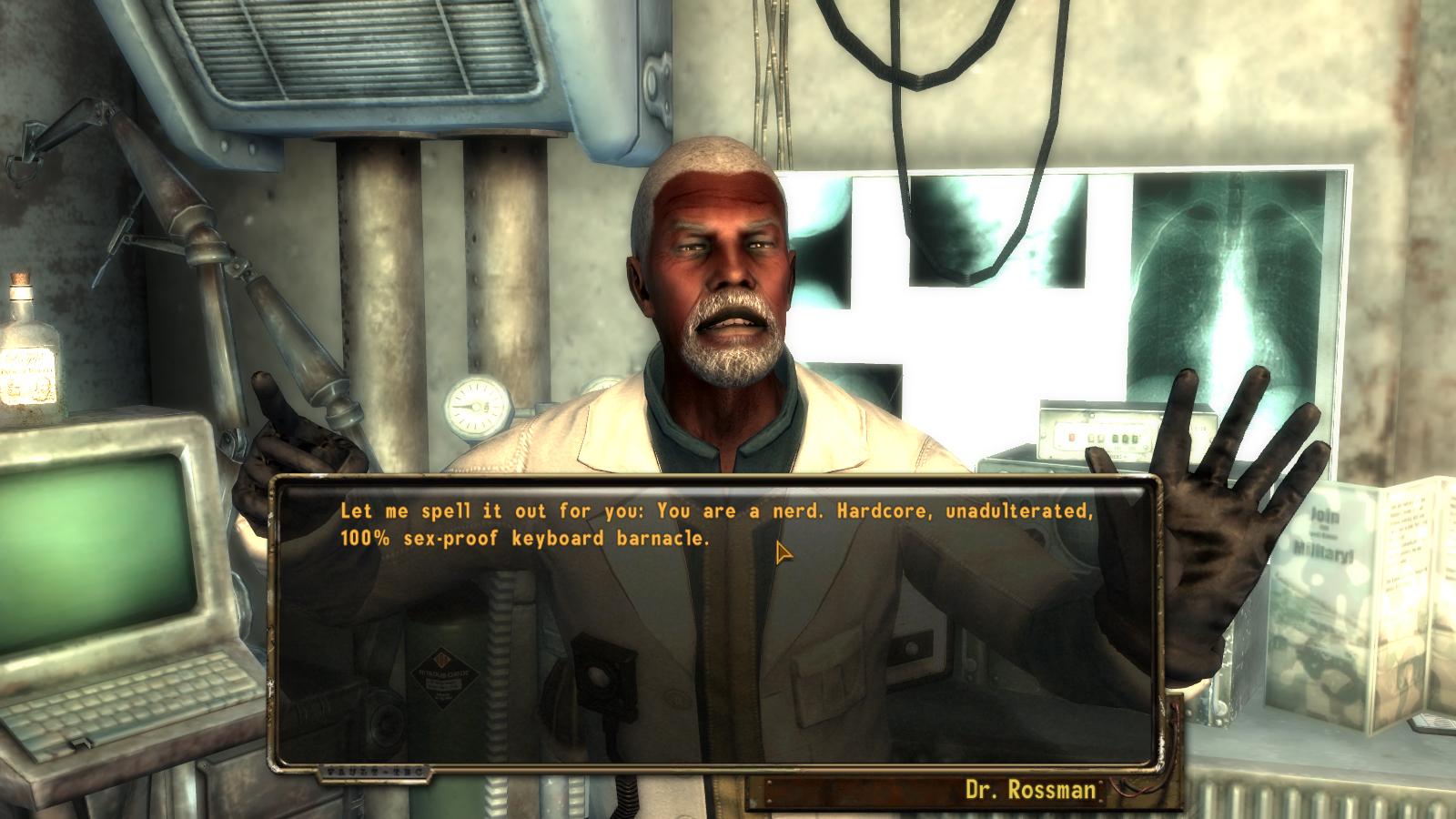 Мод на секс в игре fallout nv