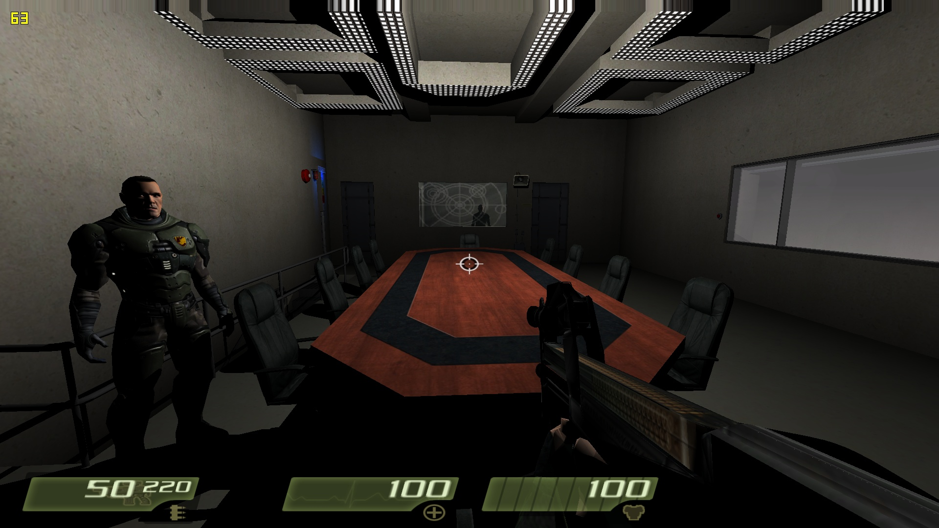 SGC briefing room image - Stargate mod for Quake 4 for ...
