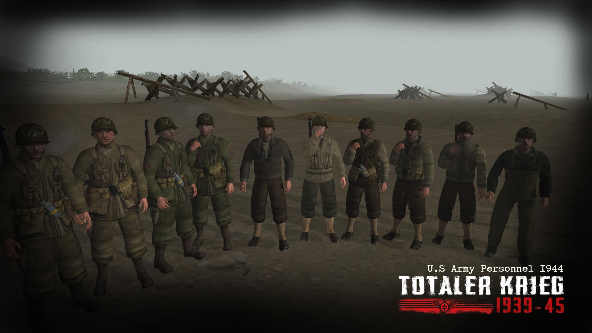 Totaler Krieg mod 1939-1945 0.99 (Men of war)