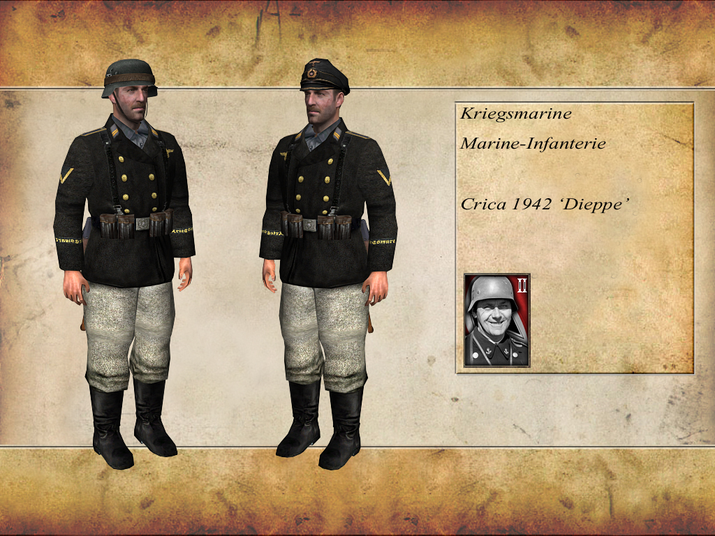 kriegsmarine marine-infanterie  1942  image