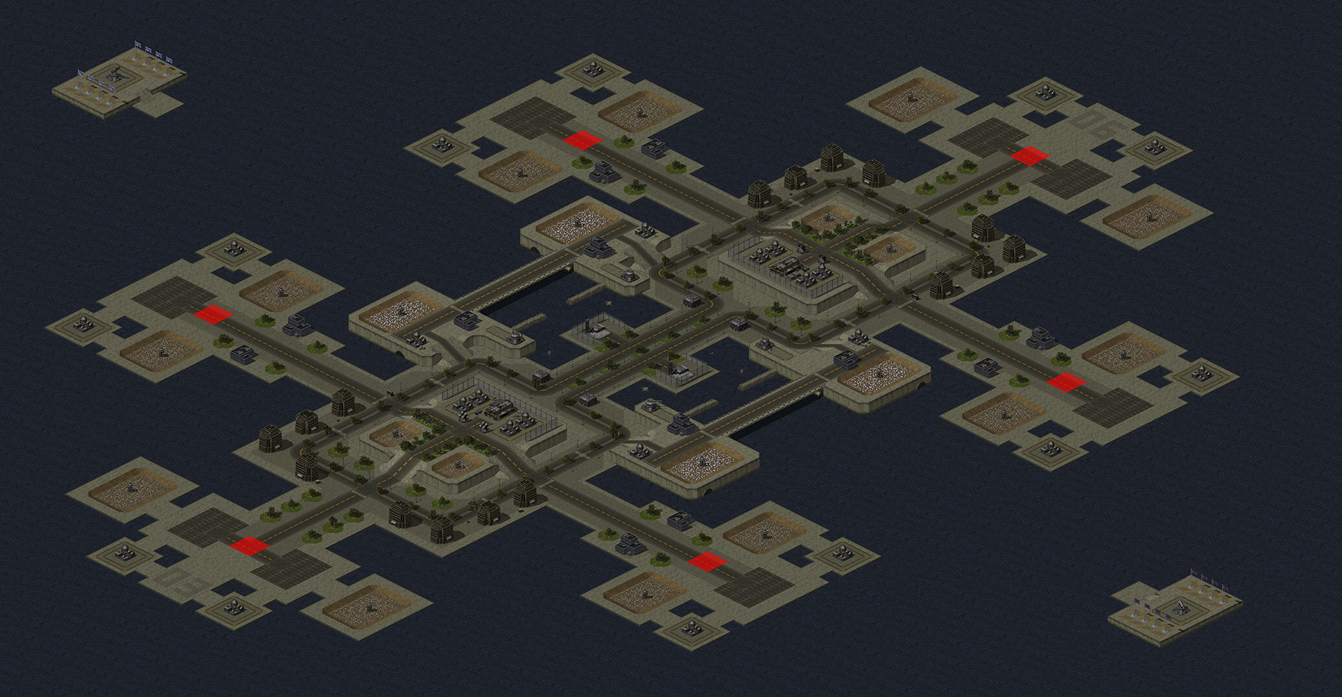 Map Render Test image - Project Phantom mod for C&C: Yuri's Revenge on red alert 3 maps, nikos deja vu yuri maps, tiberian sun maps,