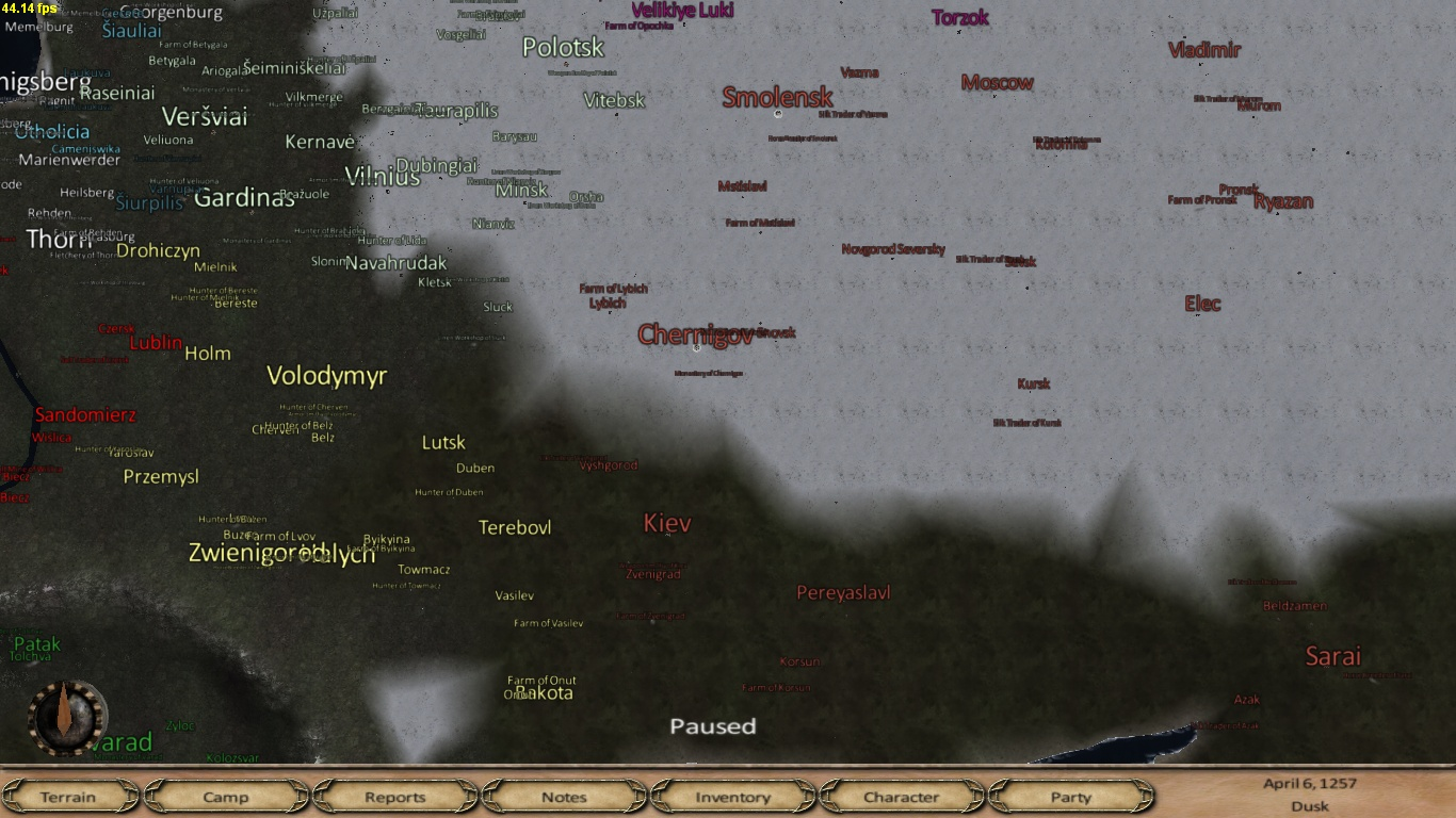 Map image anno domini 1257 mod for mount amp blade warband mod db