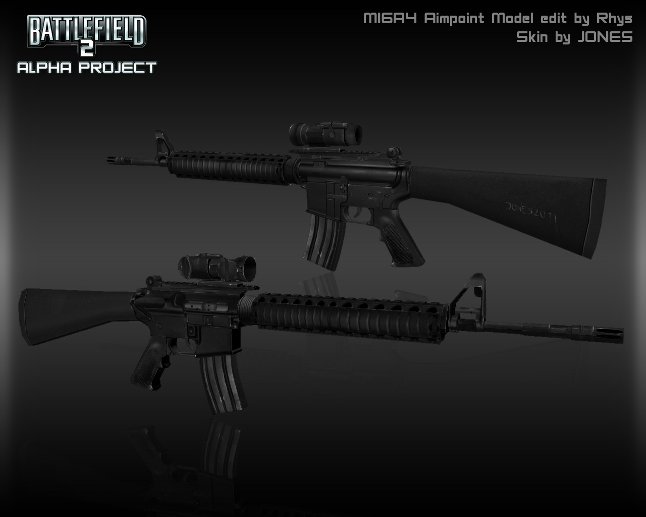 M16A4 Aimpoint Render image - Alpha Project mod for ...