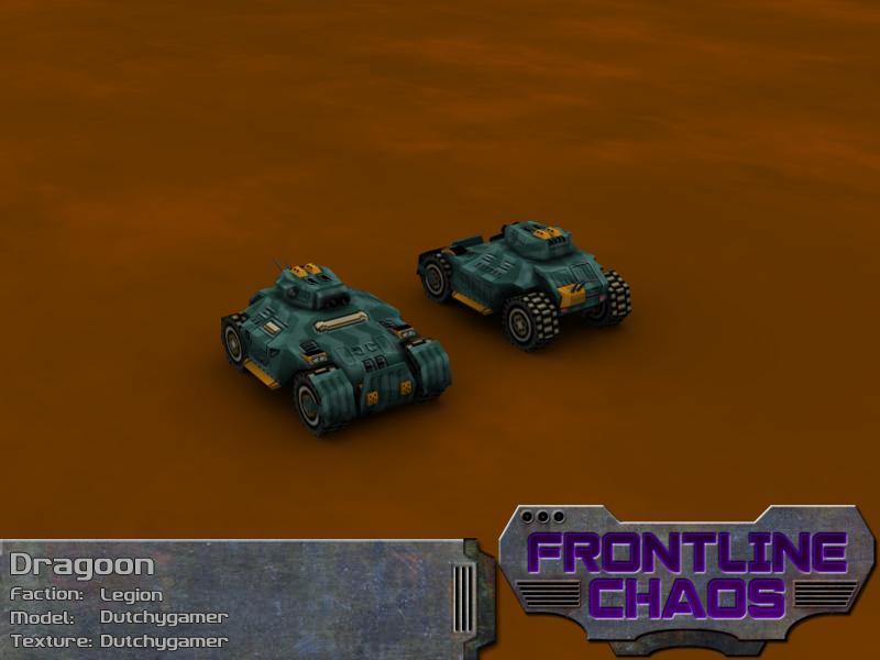 Legion Dragoon Reconnaissance Vehicle