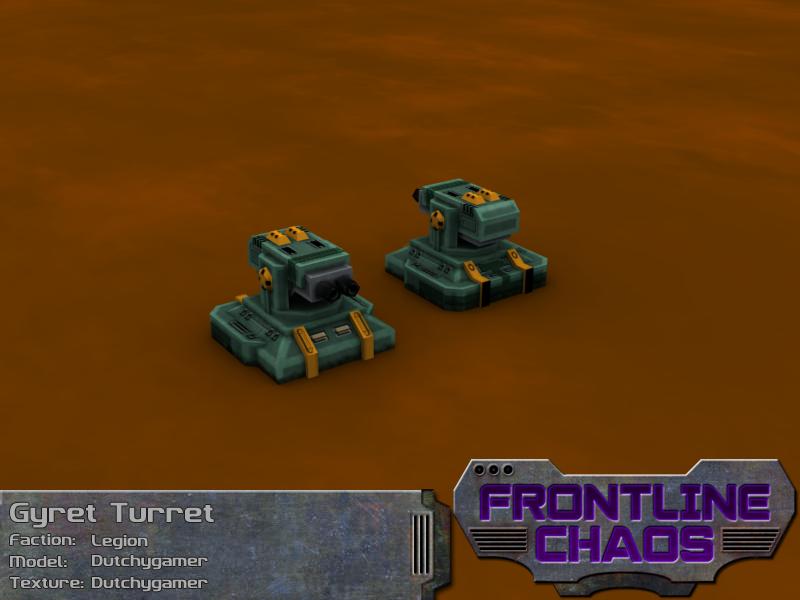 Legion Gyret Turret
