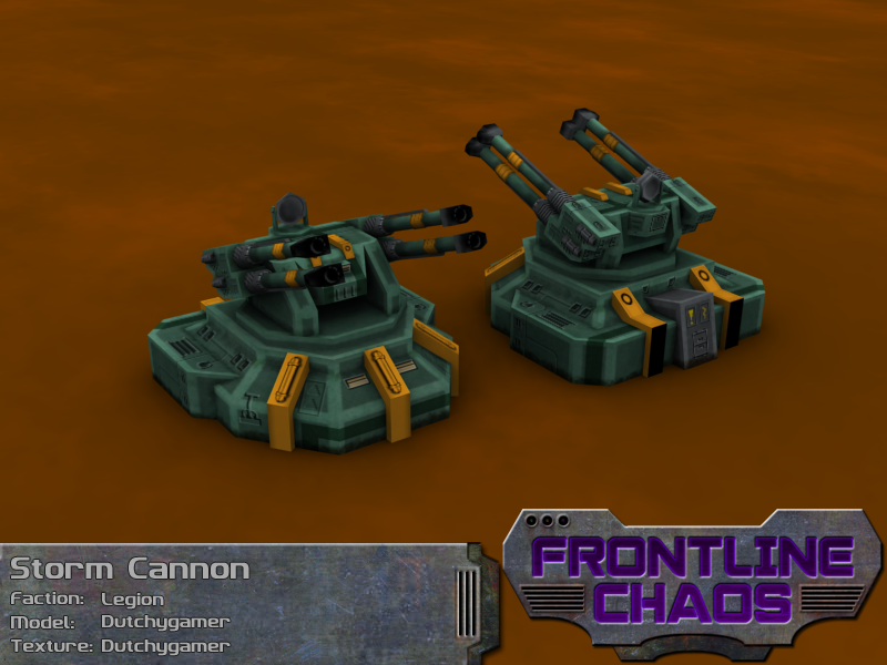 Legion Storm Cannon