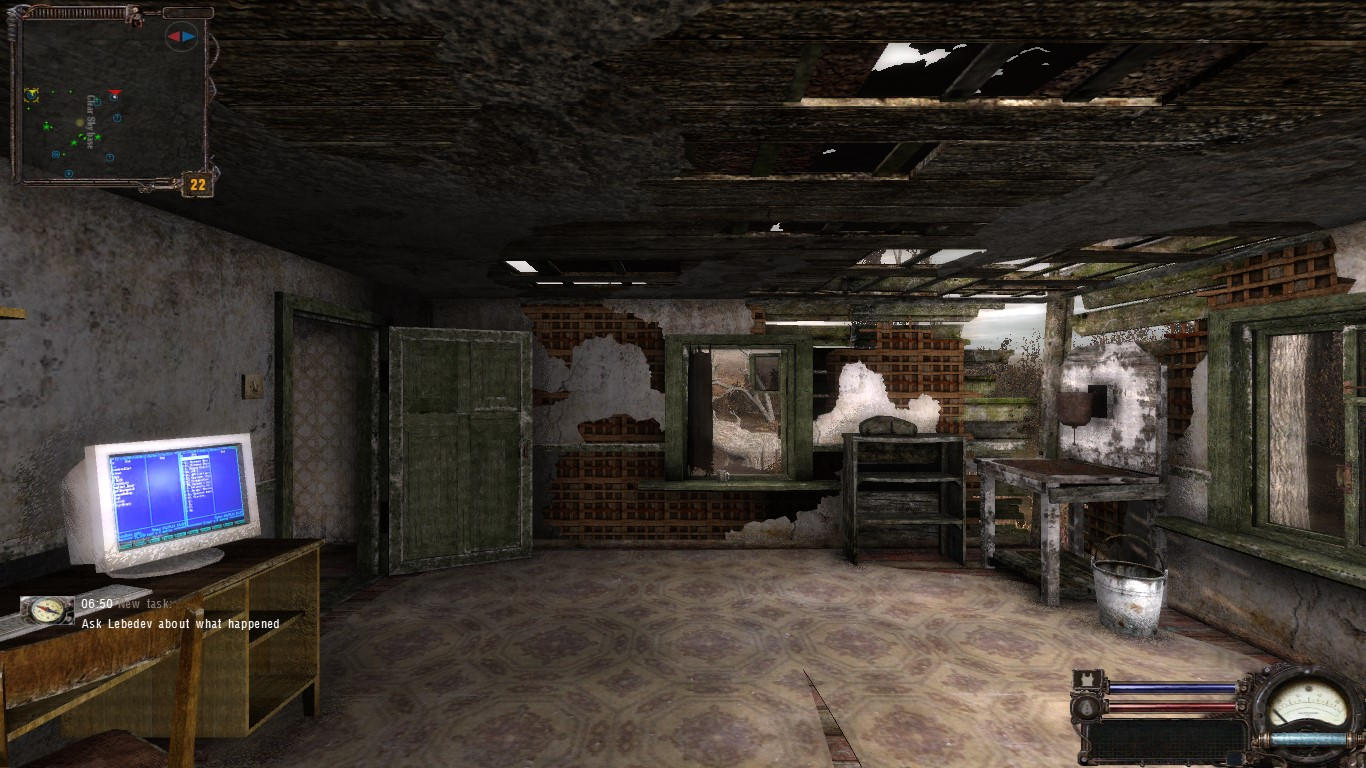 Starting the mod image - CS Remix Mod for S.T.A.L.K.E.R.: Clear Sky.