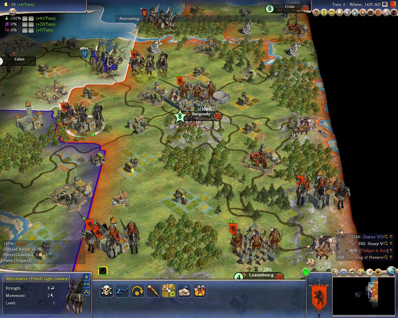 burgundy 1435 image hundred years war mod for civilization iv