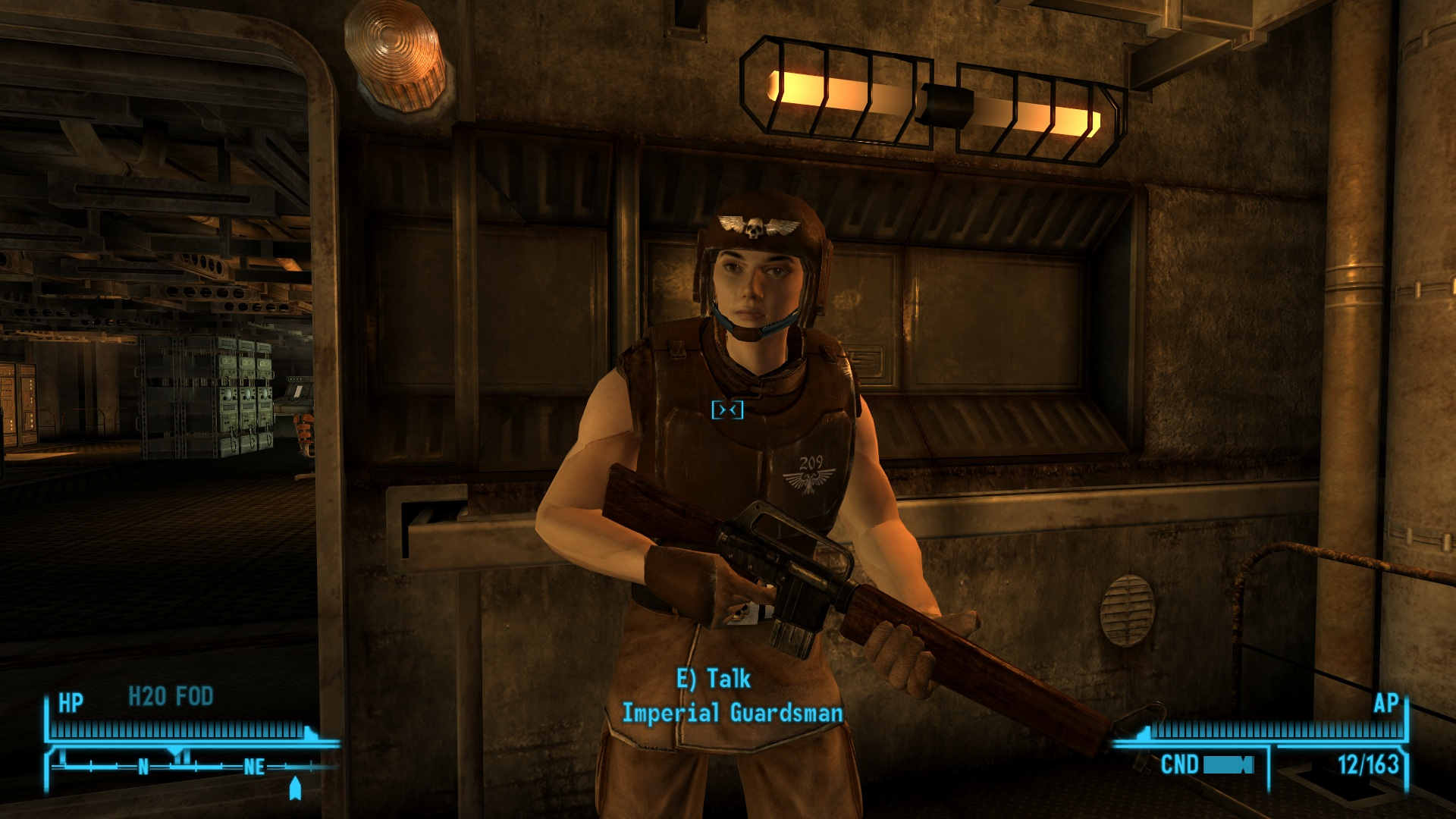 Imperial Guard Image Warhammer 40k Conversion Mod For Fallout