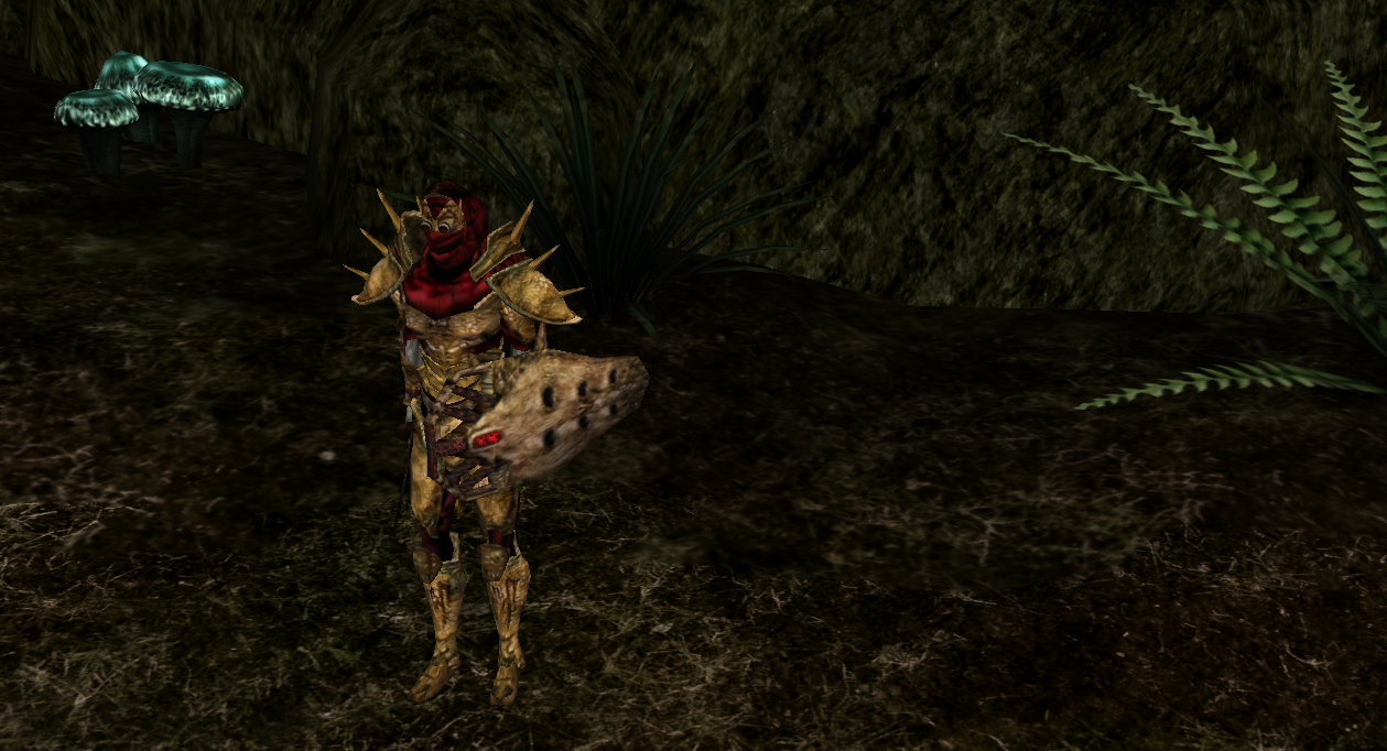 New Encounter (with new House Dagoth Armor), Red Mountain Area. (Picture i