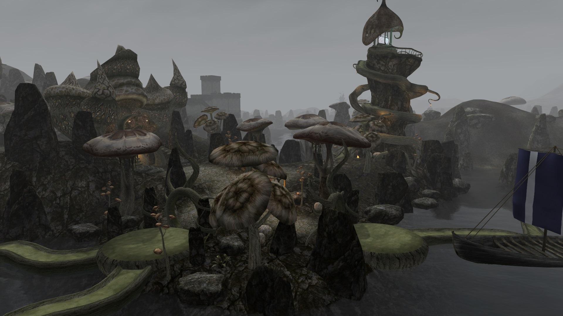 Lighthouse image - Morrowind Rebirth 5 0 mod for Elder