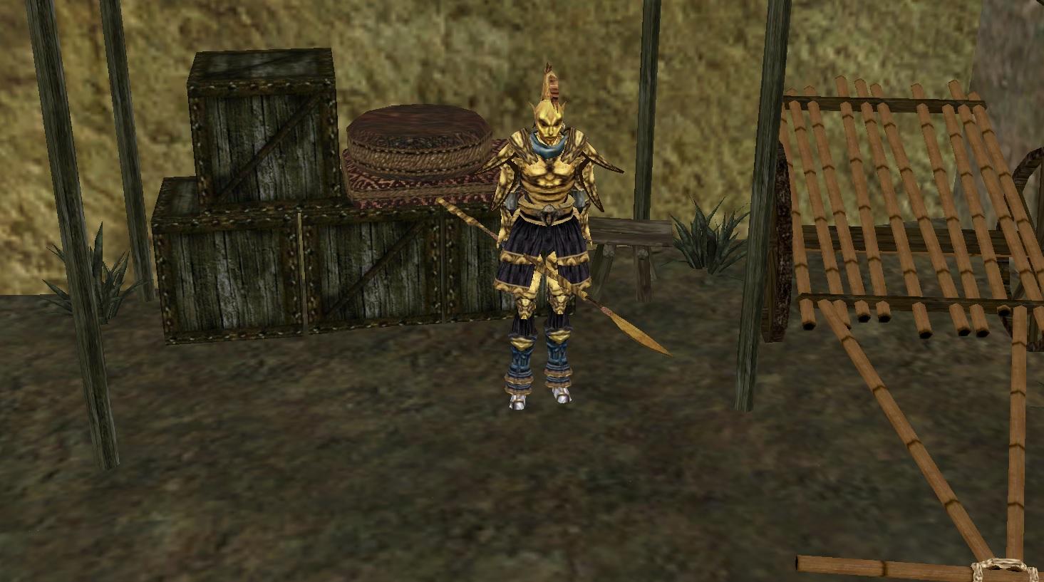 Morrowind beast race helmets mod