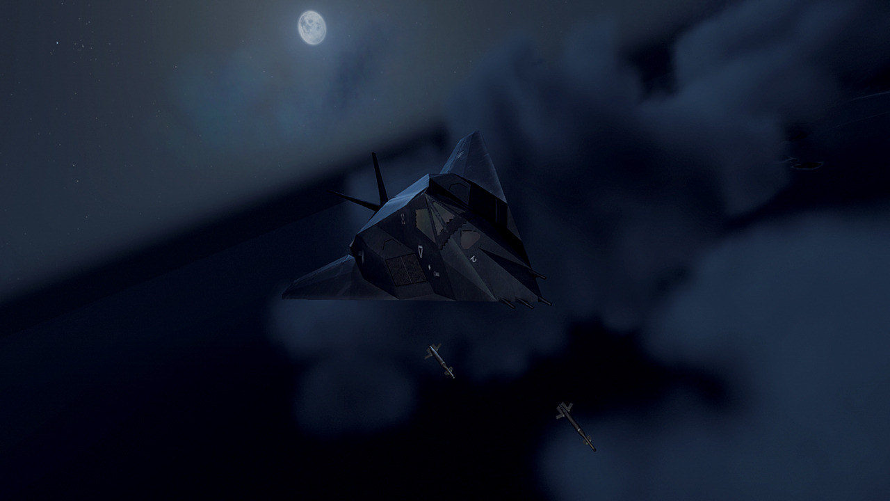 share F 117 Nighthawk At Night
