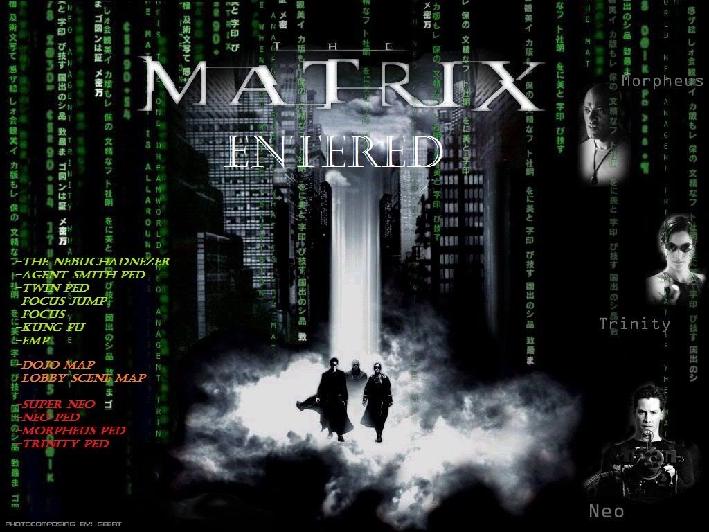 The Matrix Entered mod for Grand Theft Auto: San Andreas