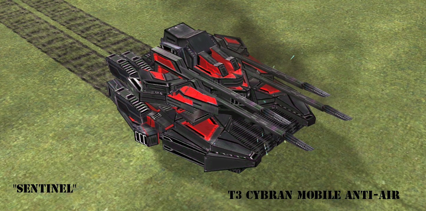 Cybran T3 Mobile Anti Air image - Total Mayhem mod for Supreme ...