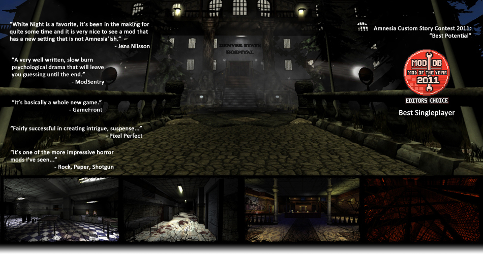 White Night - An Amnesia: The Dark Descent Total Conversion Mod