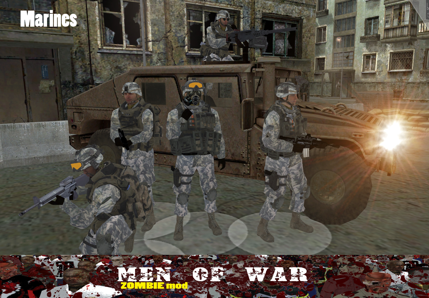 ZOMBIE mod image - old page mod for Men of War - Mod DB