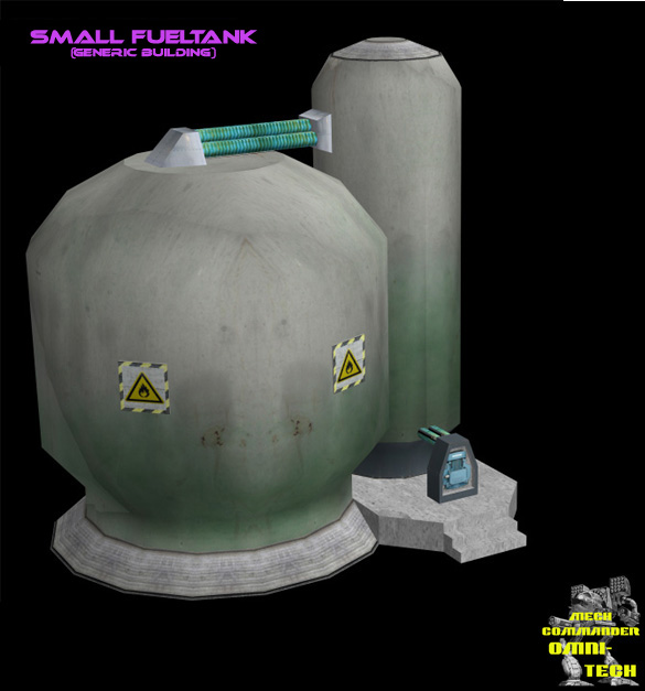 Sitemaps With Embed Option: Small Fuel Tank (explosive Building Prop) Image