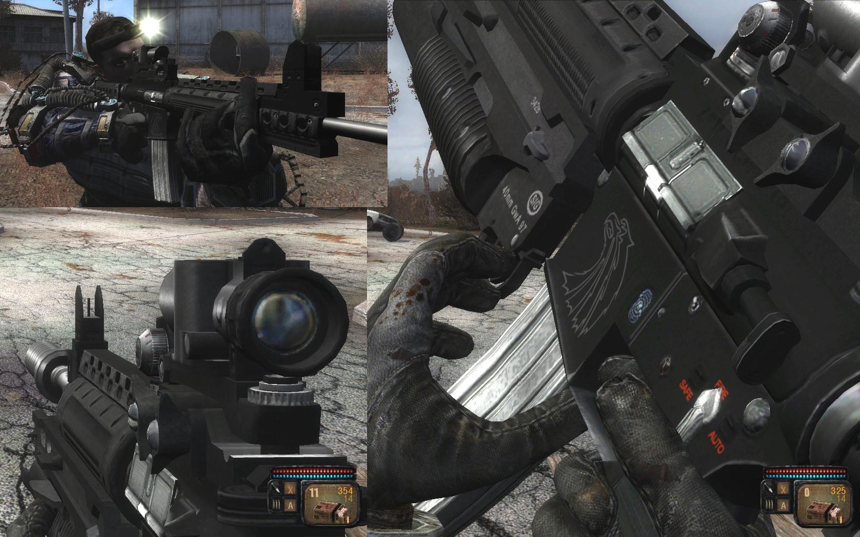 AK74 replacement | S.T.A.L.K.E.R.: Call of Pripyat Skin Mods