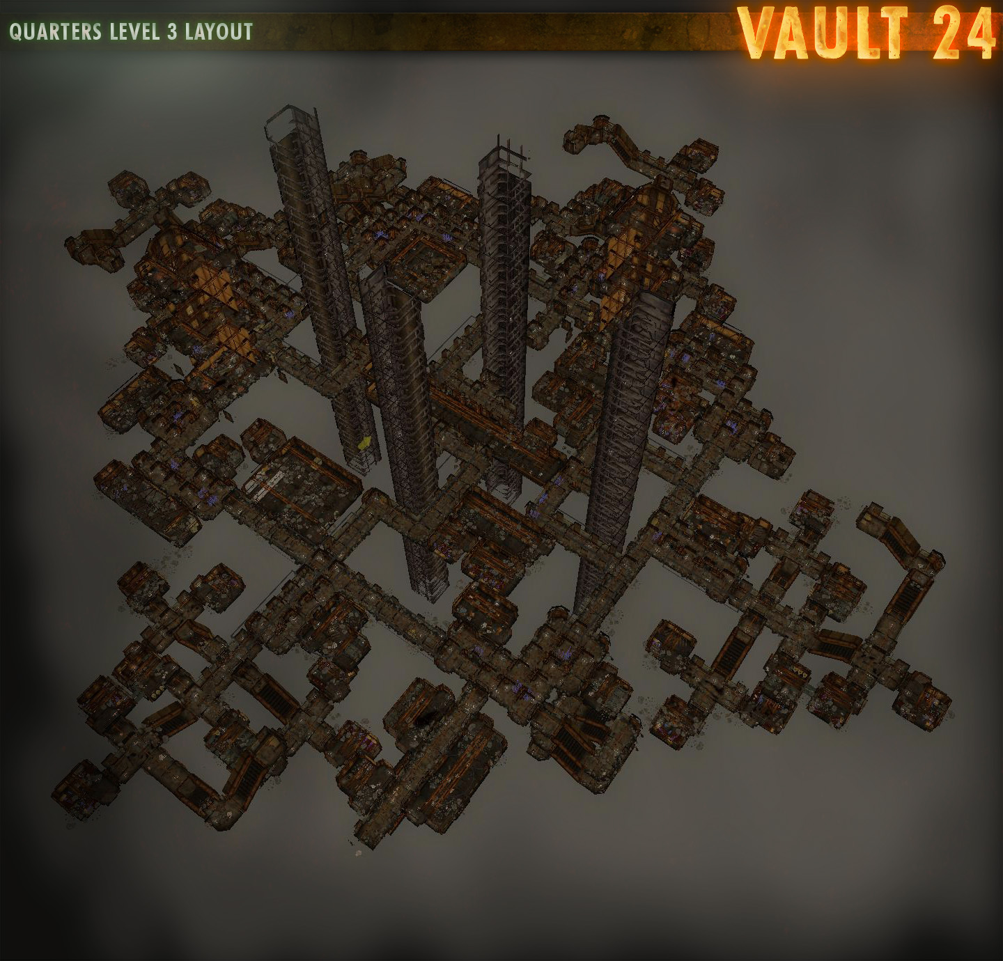 levels layout image vault 24 mod for fallout new vegas