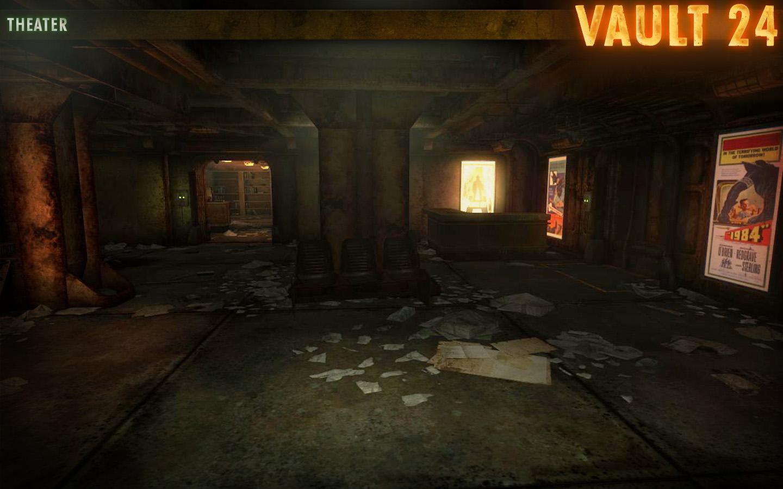 Vault 24 Mod For Fallout New Vegas Mod Db