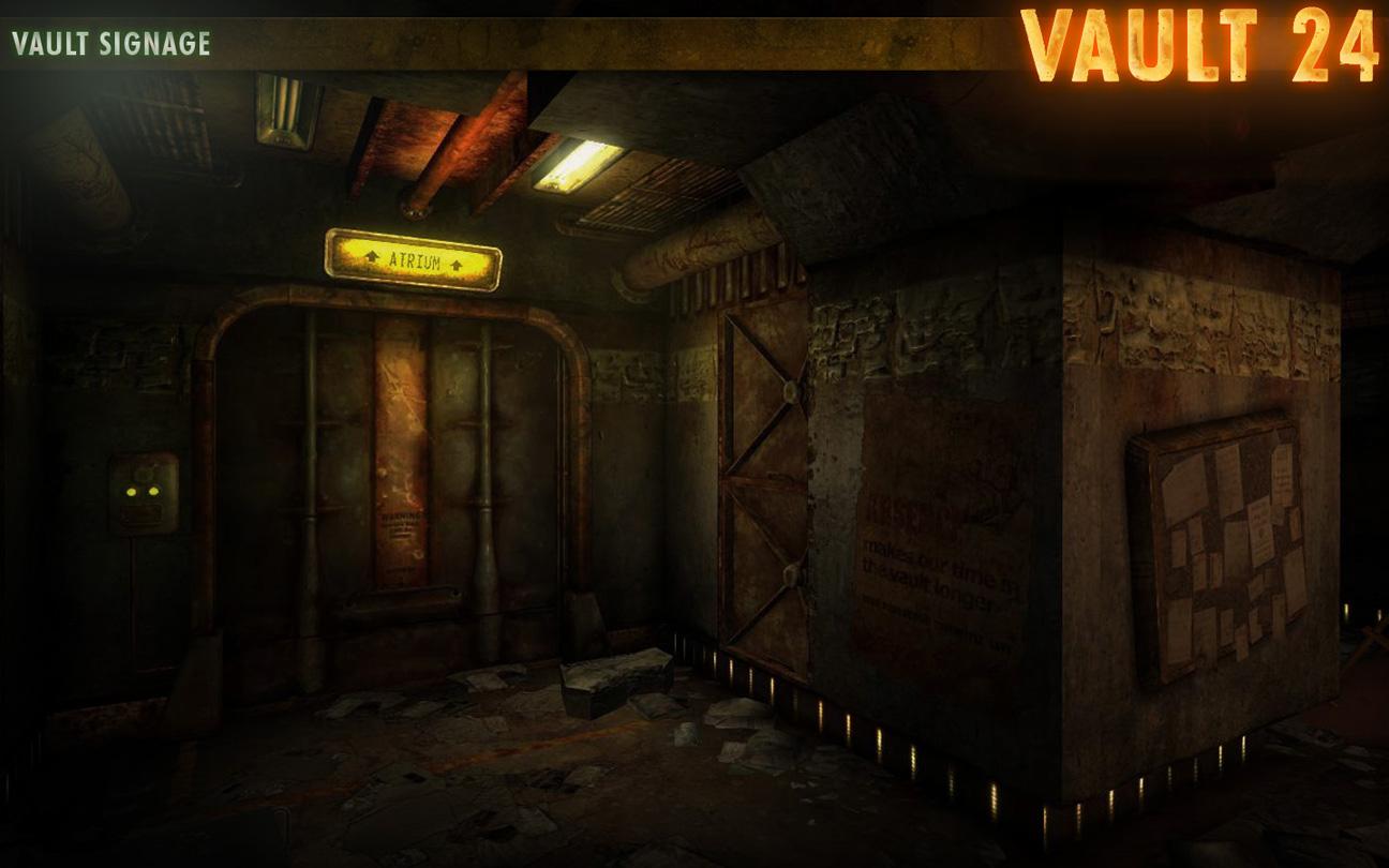 Напоминает Улей из resident evil, не так ли.  Только Убежище 24 пока что находится в процессе постройки, и находится...