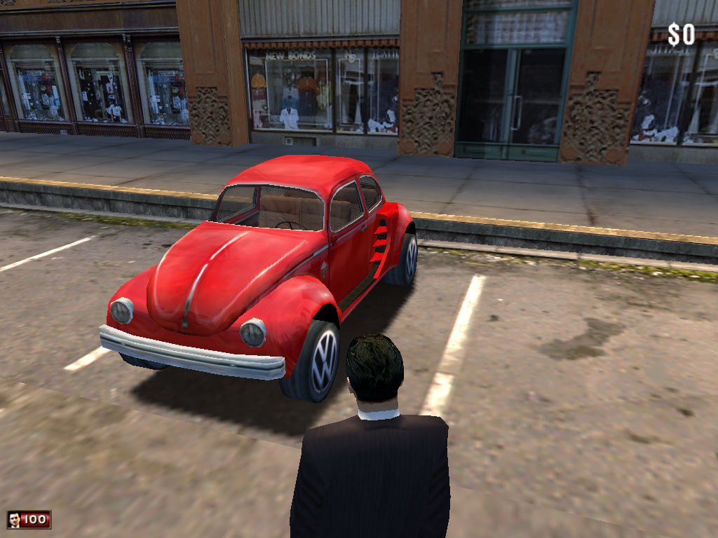 vw beetle custom model 2 image williammacau 39 s mafia mod for mafia the city of lost heaven. Black Bedroom Furniture Sets. Home Design Ideas