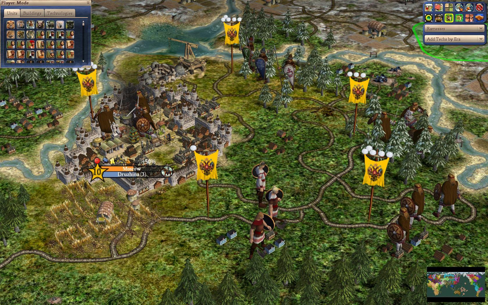 World Map Scenario Screenshot Moscow Image Realism Invictus Mod