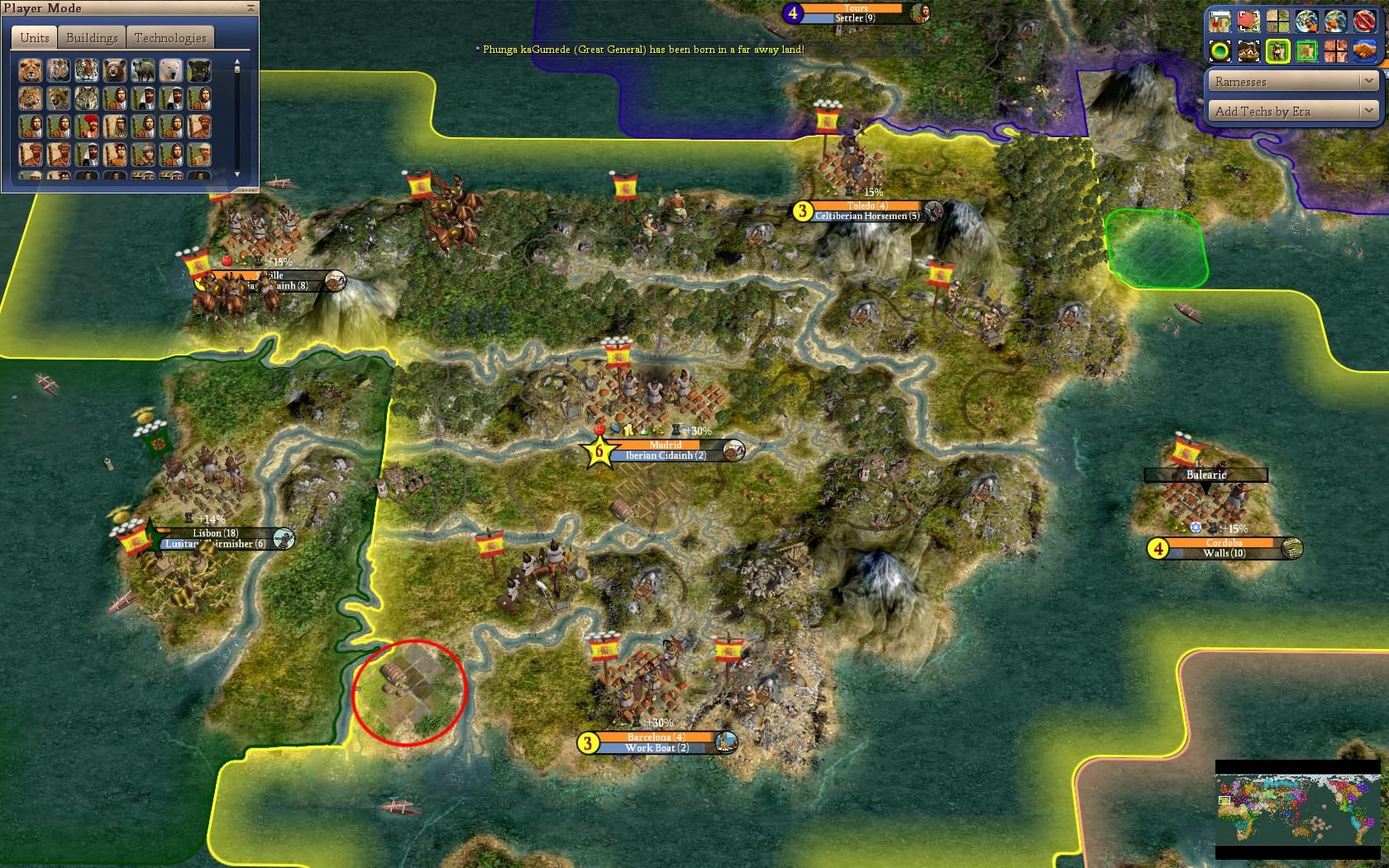 Civ 4 Earth Map