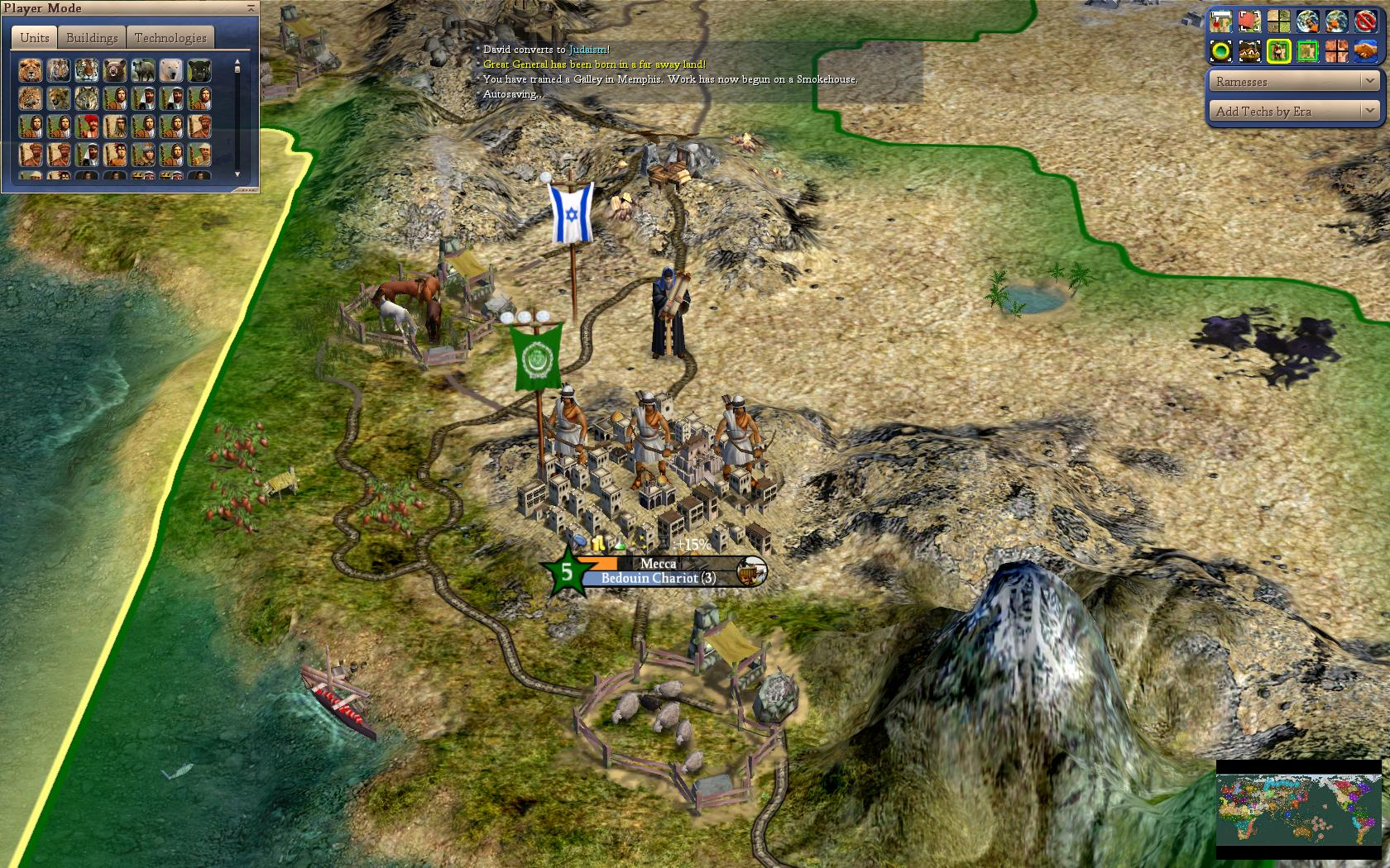 World Map Scenario Judaism Comes To Arabia Image Realism Invictus