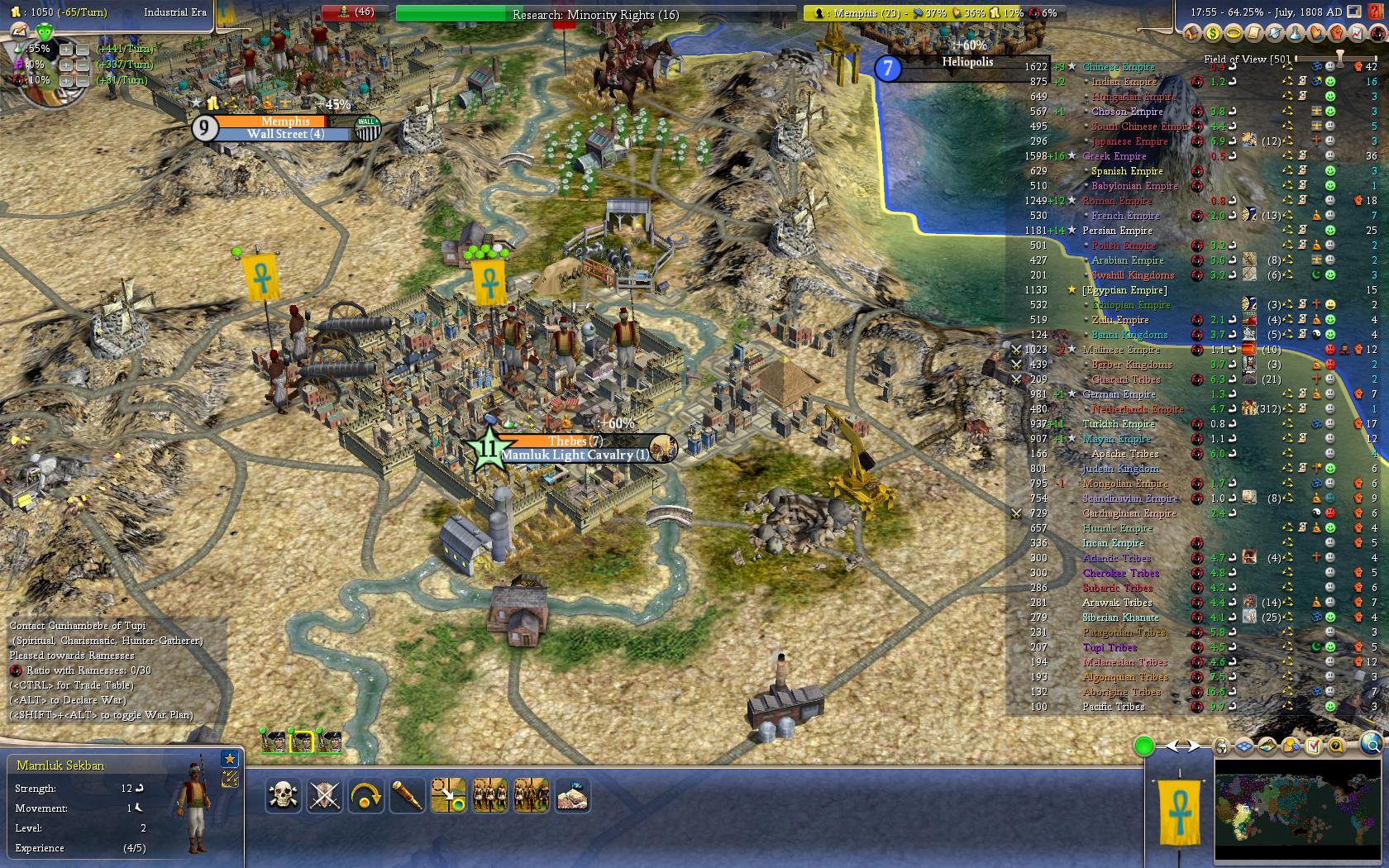 World Map Scenario Industrial Era Comes To Egypt Image Realism