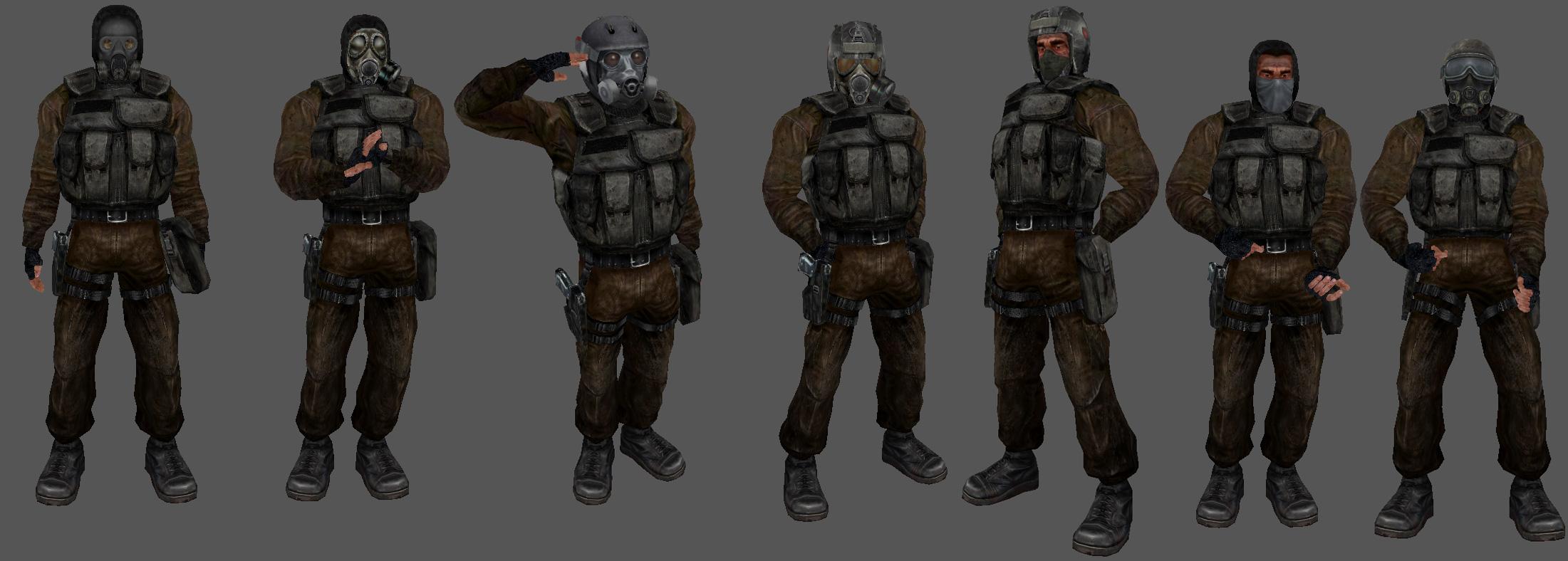 stalker clear sky how to repair armor