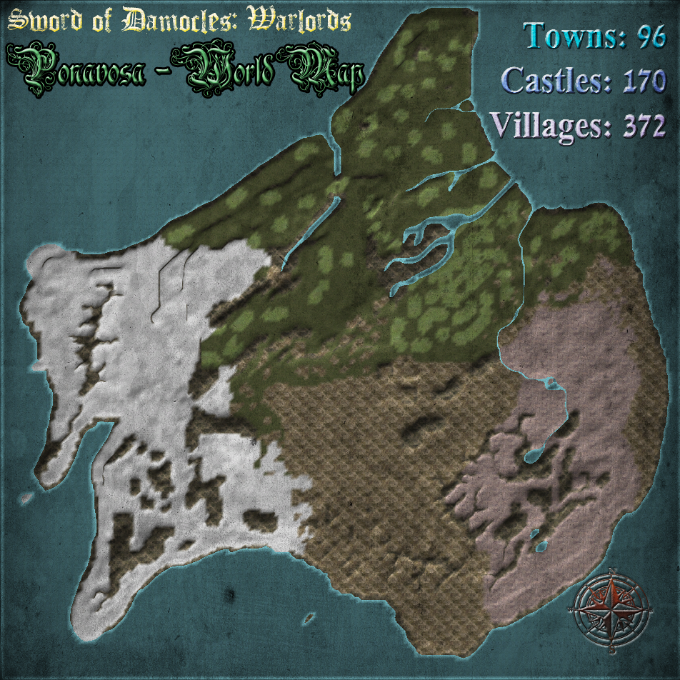 [A][ES] Sword of Damocles: Warlords Ponavosa_-_World_Map