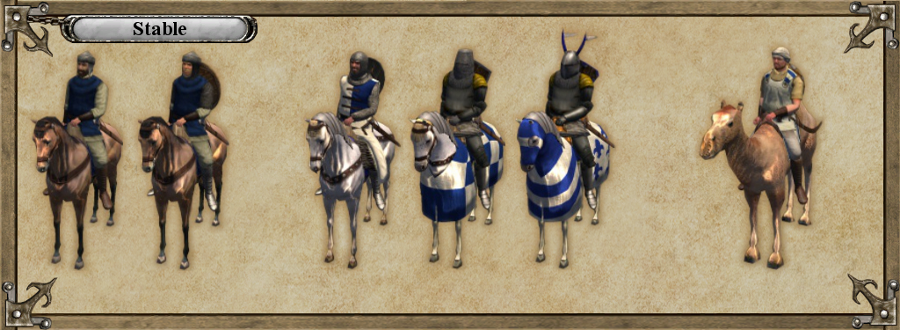 Stable troops