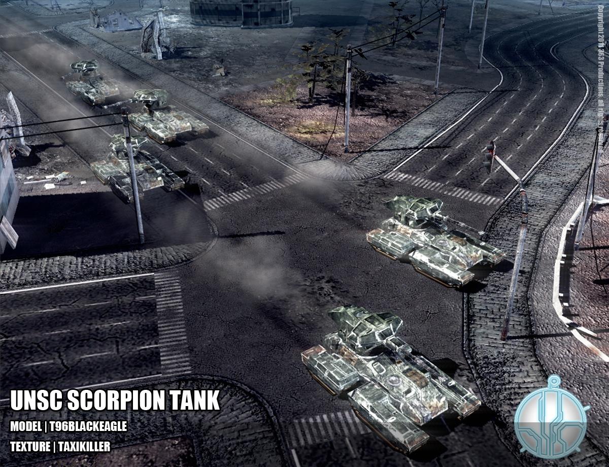 UNSC Scorpion Tank