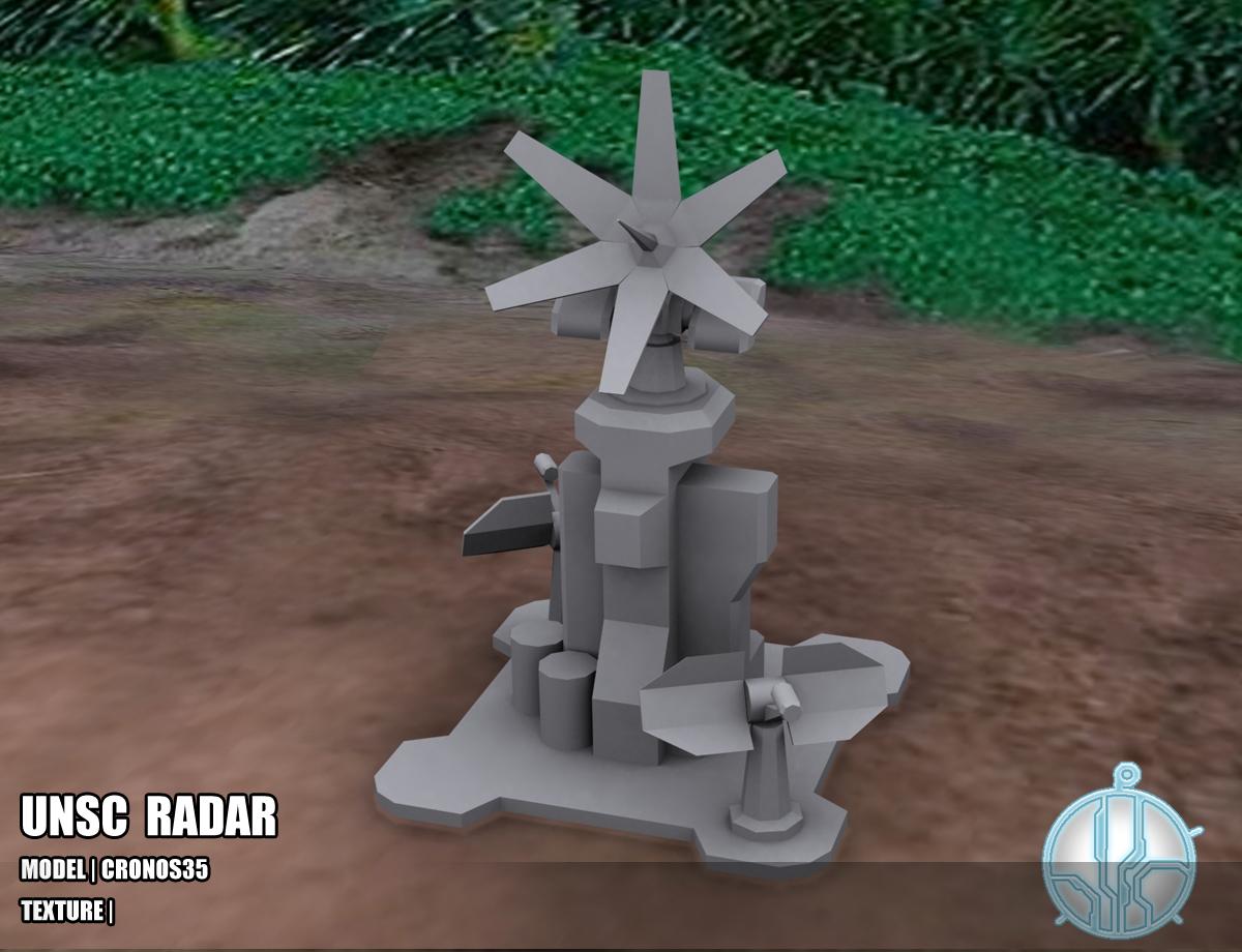 UNSC Radar Tower