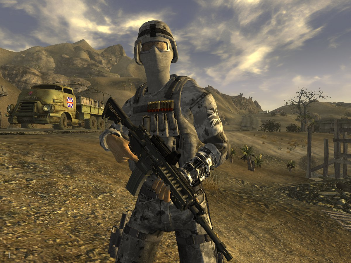 The best Fallout New Vegas mods